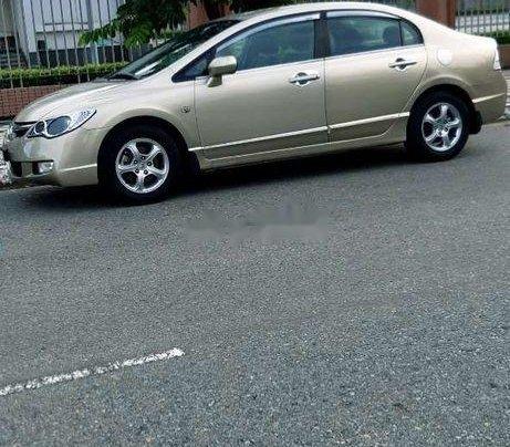 Cần bán gấp Honda Civic đời 2007, màu vàng1