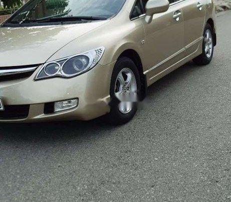 Cần bán gấp Honda Civic đời 2007, màu vàng6