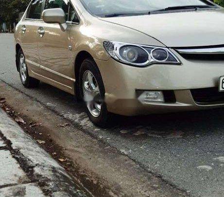Cần bán gấp Honda Civic đời 2007, màu vàng4
