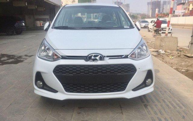 Bán Hyundai Grand i10 2019, màu trắng, 390tr1
