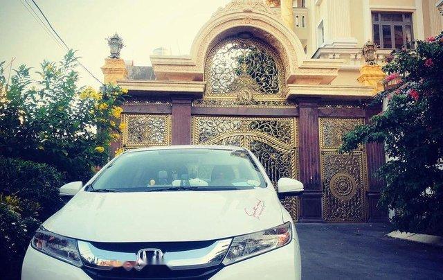 Bán xe Honda City năm sản xuất 2016, màu trắng số sàn, giá chỉ 400 triệu4