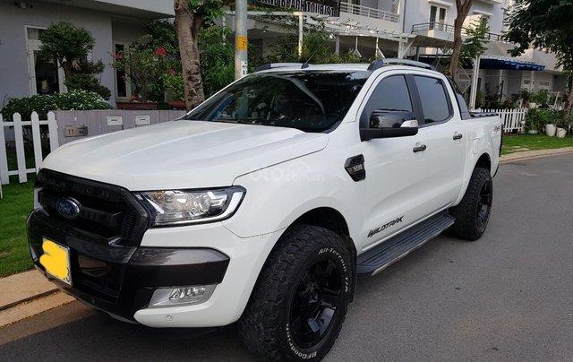 Bán Ford Ranger Wildtrack 3.2 sx 2017, màu trắng, nhập khẩu nguyên chiếc1