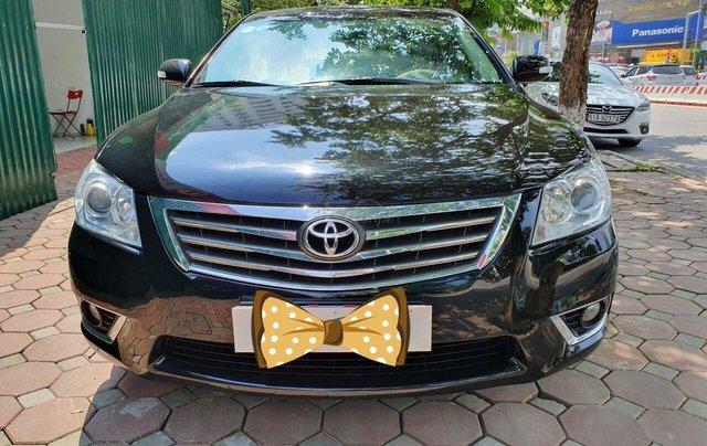Cần bán Toyota Camry 2.4G sx 2011, màu đen, biển Hà Nội0