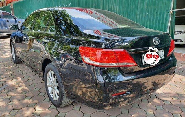 Cần bán Toyota Camry 2.4G sx 2011, màu đen, biển Hà Nội5