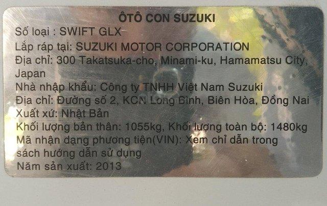 Bán Suzuki Swift-GLX 2013 nhập Nhật8