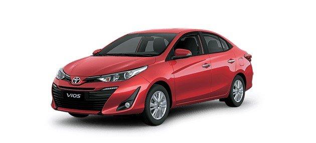 Doanh số bán hàng xe Toyota Vios tháng 2/202116