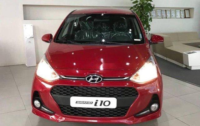 Bán ô tô Hyundai Grand i10 AT sản xuất 2019, giao xe nhanh toàn quốc0