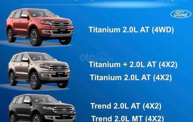 Cần bán Ford Everest 2.0 Trend 2019, xe nhập nguyên chiếc giá tốt nhất thị trường, tặng full phụ kiện. LH 09742860095