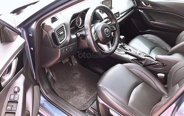 Cần bán Mazda 3 đời 2015, màu xanh lam, số tự động, giá tốt4