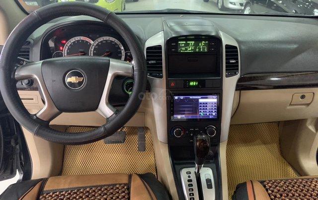 Cần bán Chevrolet Captiva 2.4AT sản xuất 2010, màu đen, giá 355tr2