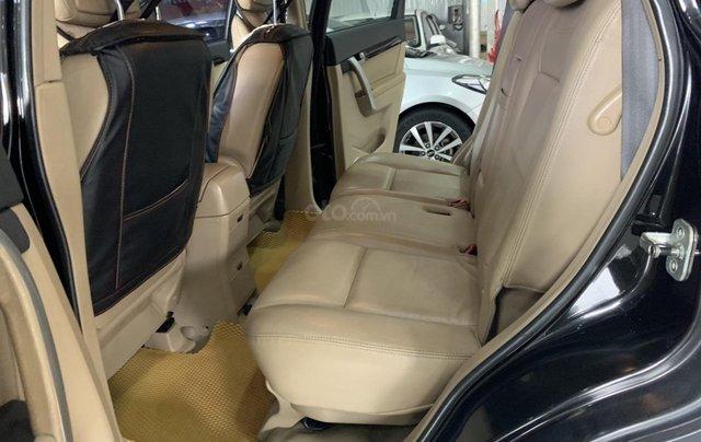 Cần bán Chevrolet Captiva 2.4AT sản xuất 2010, màu đen, giá 355tr4