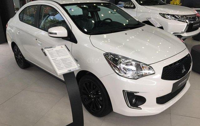 Mitsubishi Attrage 2019, xe nhập khẩu, giá tốt, siêu tiết kiệm 4,9L/100km, hỗ trợ trả góp 80%0