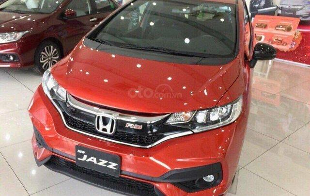 Honda Mỹ Đình: Khuyến mại sốc - Honda Jazz RS 2019, màu cam, nhập khẩu, giảm tiền mặt cực sâu, LH: 0964 0999 261