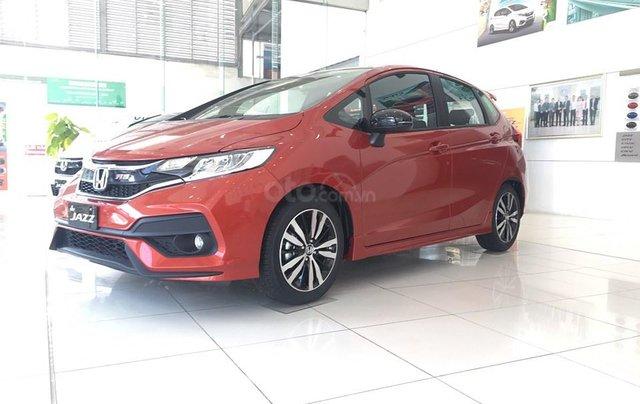 Honda Mỹ Đình: Khuyến mại sốc - Honda Jazz RS 2019, màu cam, nhập khẩu, giảm tiền mặt cực sâu, LH: 0964 0999 262