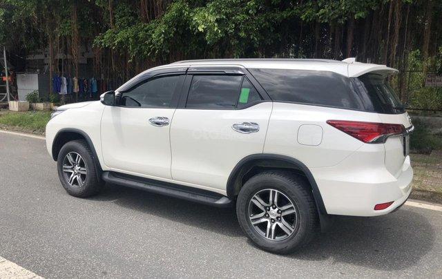 Bán Toyota Fortuner 2.7V máy xăng, số tự động, 1 cầu, nhập Indonesia 2017, màu trắng camay6