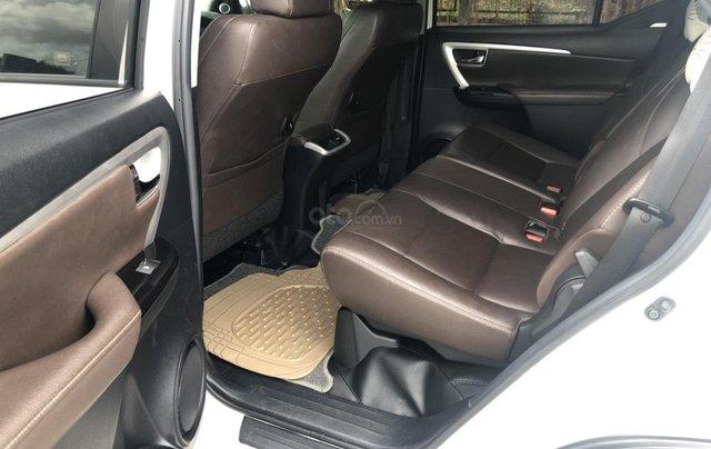 Bán Toyota Fortuner 2.7V máy xăng, số tự động, 1 cầu, nhập Indonesia 2017, màu trắng camay4