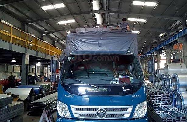 Bán Thaco OLLIN 700C sản xuất 2017, màu xanh lam như mới0