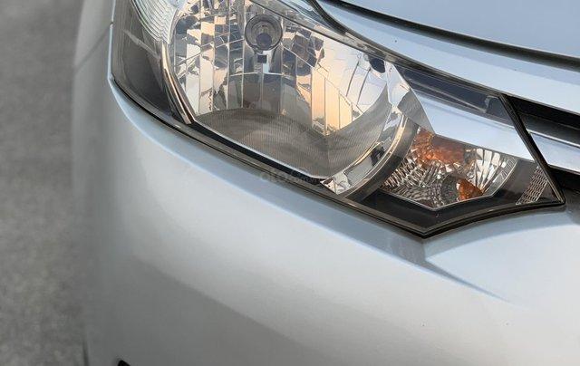 Bán Toyota Vios 1.5E MT năm 2014, màu bạc1