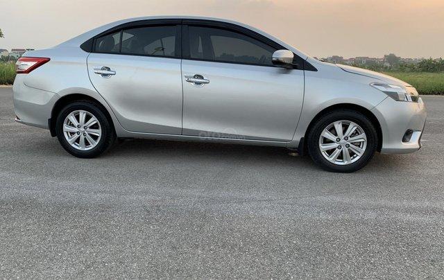 Bán Toyota Vios 1.5E MT năm 2014, màu bạc17