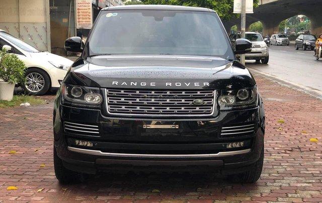 Bán LandRover Range Rover Autobiography LWB 5.0 4 chỗ sản xuất năm 2014, màu đen, xe cực đẹp0