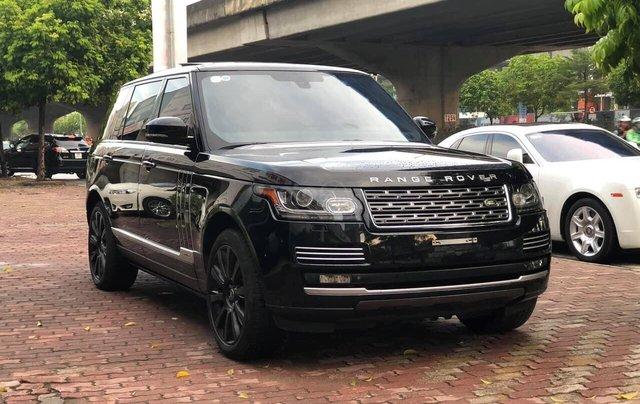 Bán LandRover Range Rover Autobiography LWB 5.0 4 chỗ sản xuất năm 2014, màu đen, xe cực đẹp1