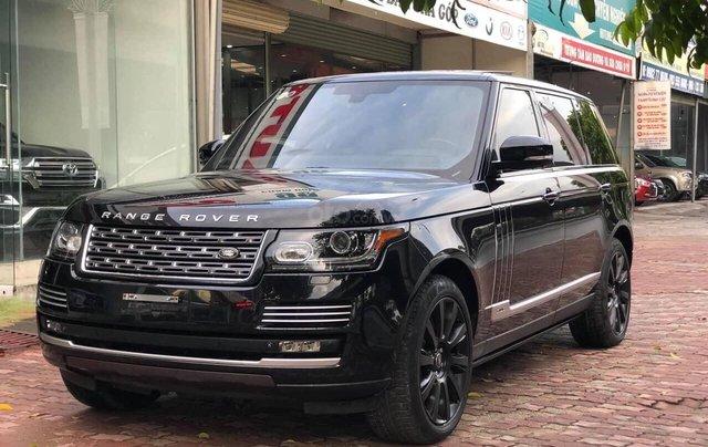 Bán LandRover Range Rover Autobiography LWB 5.0 4 chỗ sản xuất năm 2014, màu đen, xe cực đẹp4