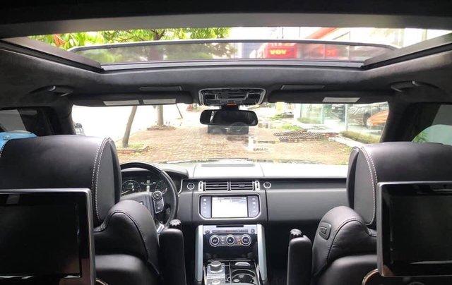 Bán LandRover Range Rover Autobiography LWB 5.0 4 chỗ sản xuất năm 2014, màu đen, xe cực đẹp10