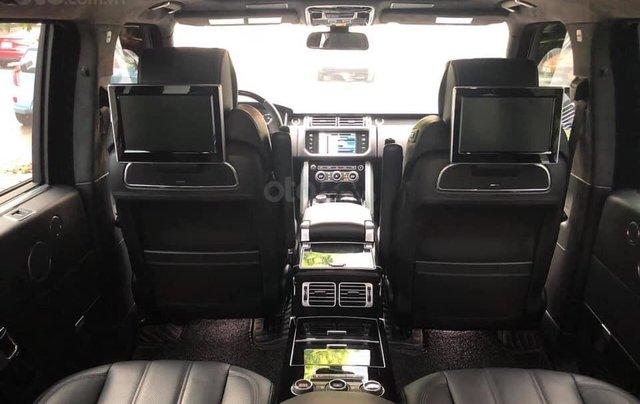 Bán LandRover Range Rover Autobiography LWB 5.0 4 chỗ sản xuất năm 2014, màu đen, xe cực đẹp9
