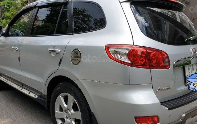 Bán Hyundai Santafe SLX máy dầu 2.0, số tự động, nhập khẩu, đời T12/2009, màu bạc, mới 80%1
