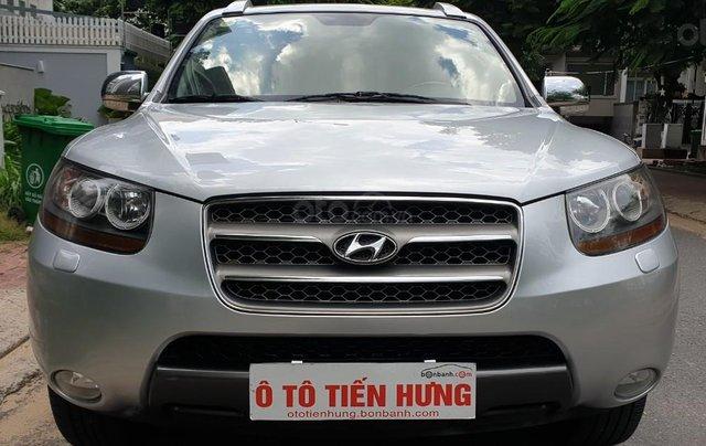 Bán Hyundai Santafe SLX máy dầu 2.0, số tự động, nhập khẩu, đời T12/2009, màu bạc, mới 80%4