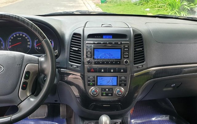 Bán Hyundai Santafe SLX máy dầu 2.0, số tự động, nhập khẩu, đời T12/2009, màu bạc, mới 80%6