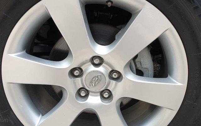 Bán Hyundai Santafe SLX máy dầu 2.0, số tự động, nhập khẩu, đời T12/2009, màu bạc, mới 80%12