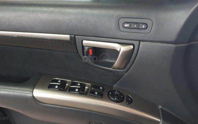 Bán Hyundai Santafe SLX máy dầu 2.0, số tự động, nhập khẩu, đời T12/2009, màu bạc, mới 80%13