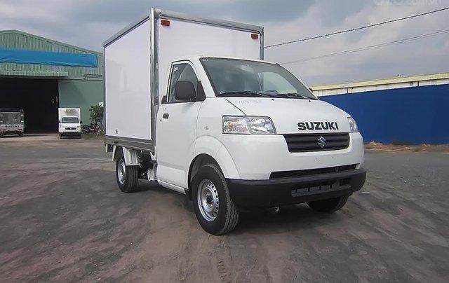Bán Suzuki Super Carry Pro đời 2019, màu trắng, nhập khẩu nguyên chiếc, 335tr1