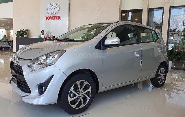 Bán Toyota Wigo 1.2G MT năm 2019, màu bạc, xe nhập0