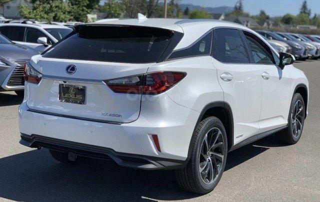 Cần bán xe Lexus RX 450h hybrid sản xuất năm 2020, màu trắng, nhập khẩu Mỹ, mới 100%. LH: 0982.84.28384