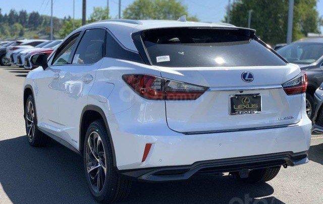 Cần bán xe Lexus RX 450h hybrid sản xuất năm 2020, màu trắng, nhập khẩu Mỹ, mới 100%. LH: 0982.84.28383