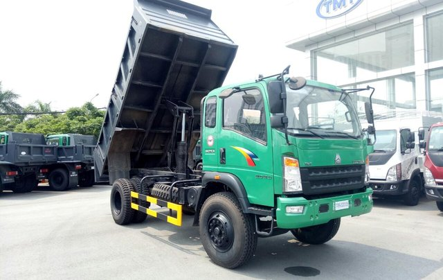 Bán xe ben Howo ga cơ 9T5 thùng 7.2 khối giá rẻ5