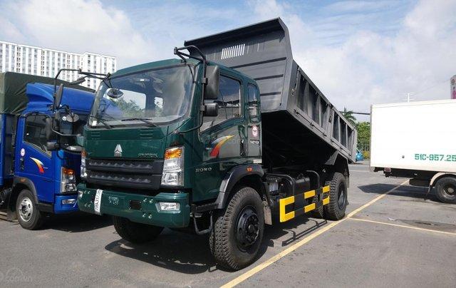 Bán xe ben Howo ga cơ 9T5 thùng 7.2 khối giá rẻ0