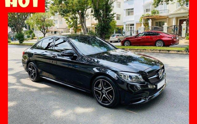 Bán xe Mercedes C300 AMG 2019 bảo hành chính hãng đến 2022, trả trước 700 triệu nhận xe ngay0