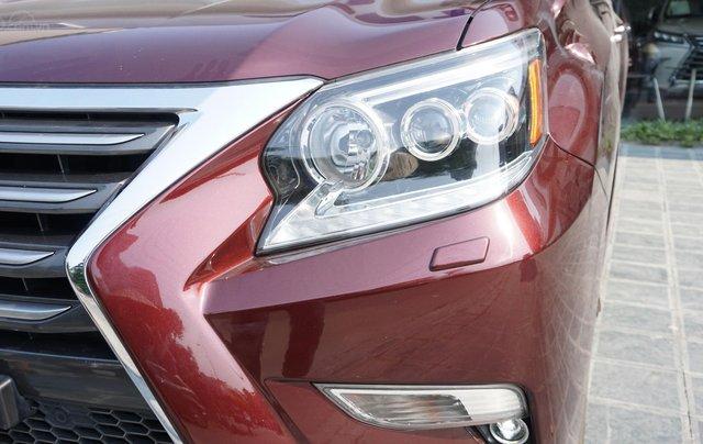 Bán Lexus GX460 đời 2016 màu đỏ Rubi, xe chính hãng, Mr Huân 0981.0101.617
