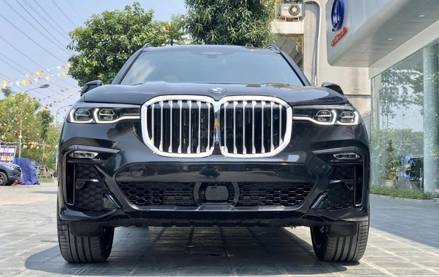 Bán BMW X7 XDrive40i M-Sport sản xuất năm 2019 full kịch option, màu đen, xe nhập Mỹ, LH 0982.84.28381