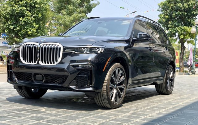 Bán BMW X7 XDrive40i M-Sport sản xuất năm 2019 full kịch option, màu đen, xe nhập Mỹ, LH 0982.84.28382