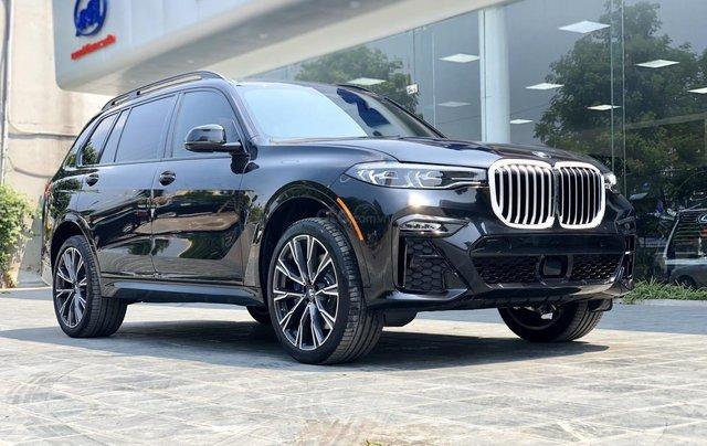 Bán BMW X7 XDrive40i M-Sport sản xuất năm 2019 full kịch option, màu đen, xe nhập Mỹ, LH 0982.84.28380
