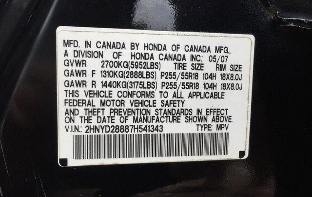 Bán xe Acura MDX SH-AWD đời 2007 màu đen10