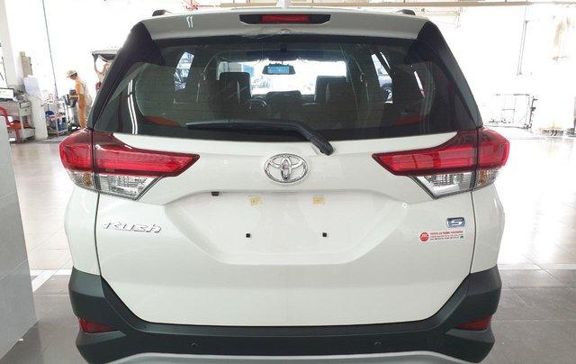 Toyota Rush 1.5S AT 2019 màu trắng, trả trước 200tr nhận xe ngay3