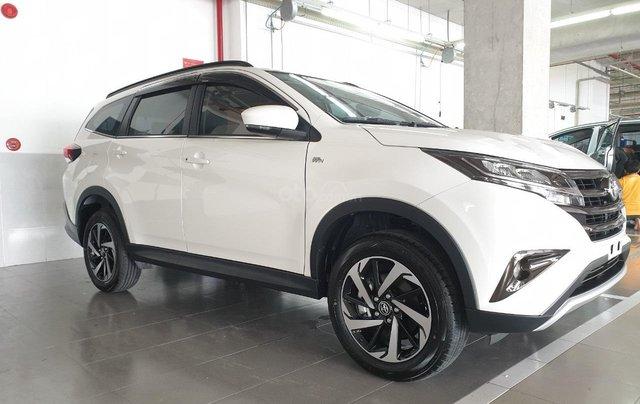 Toyota Rush 1.5S AT 2019 màu trắng, trả trước 200tr nhận xe ngay1