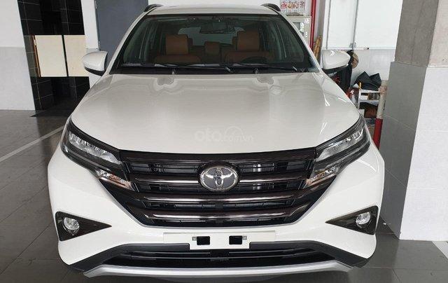 Toyota Rush 1.5S AT 2019 màu trắng, trả trước 200tr nhận xe ngay0