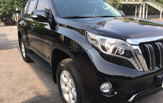 Toyota Land Cruiser Prado TXL 2.7L màu đen, sản xuất 2014, biển Hà Nội1
