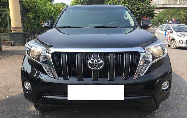 Toyota Land Cruiser Prado TXL 2.7L màu đen, sản xuất 2014, biển Hà Nội0